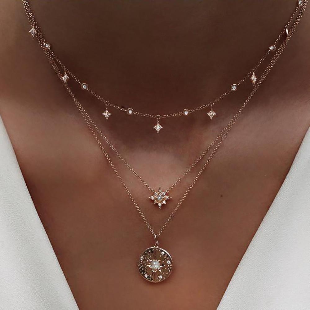 Women's Fashion Multilayer Necklaces